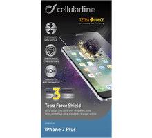 Cellularline TETRA FORCE GLASS prémiové ochranné tvrzené sklo pro Apple iPhone 7 Plus - TETRAGLASSIPH755