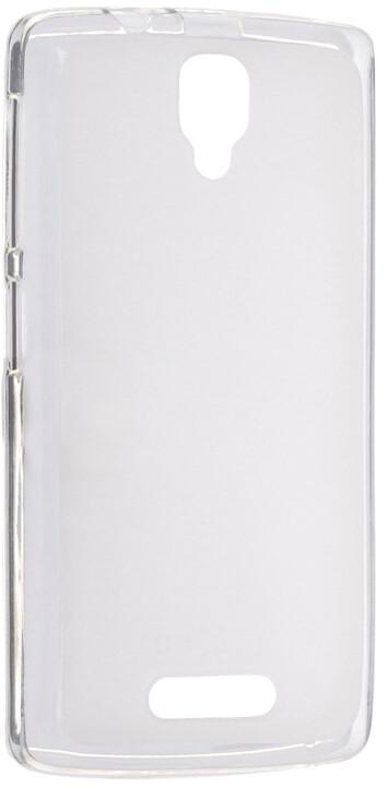 FIXED TPU gelové pouzdro pro Lenovo A1000, bezbarvá