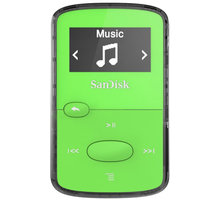 SanDisk Sansa Clip Jam 8GB, zelená - SDMX26-008G-G46G
