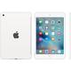 Apple iPad mini 4 Silicone Case, bílá