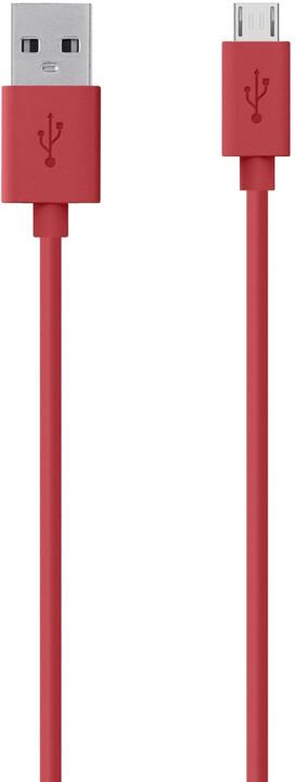 Belkin Mixit USB/microB, 2m, červená