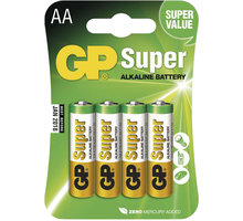 GP Super Value, alkalická, AA, 4ks - 1013214000