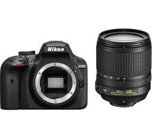 Nikon D3400 + 18-105 VR, černá - VBA490K003 + Spací pytel Alpine Pro Saltan v ceně 999 Kč