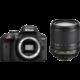 Nikon D3400 + 18-105 VR, černá  + Spací pytel Alpine Pro Saltan v ceně 999 Kč