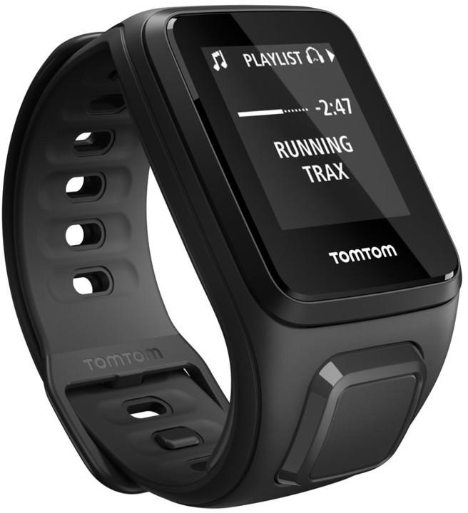 TOMTOM Spark Fitness Music (S), černá