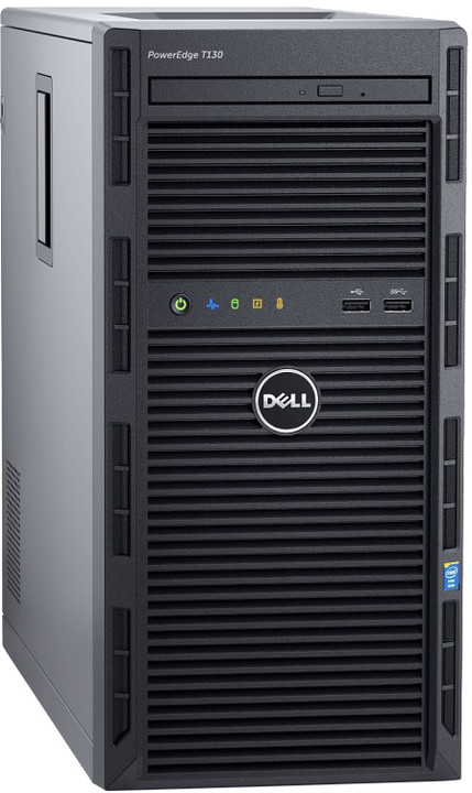 Dell PowerEdge T130 TW /E3-1220v5/8GB/2x 1TB 7.2K/H330/Bez OS