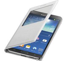 Samsung EF-CN900BW flip S-view pouzdro pro Note 3, bílá - EF-CN900BWEGWW