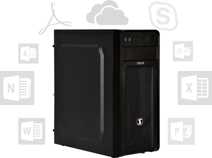 CZC PC OFFICE i7 SSD + HDD - W10 Pro