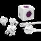 PowerCube Rewirable USB + Travel Plugs + IEC kabel