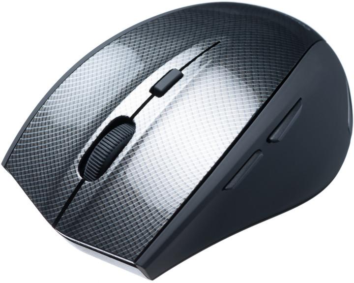 CONNECT IT Carbon myš, černá