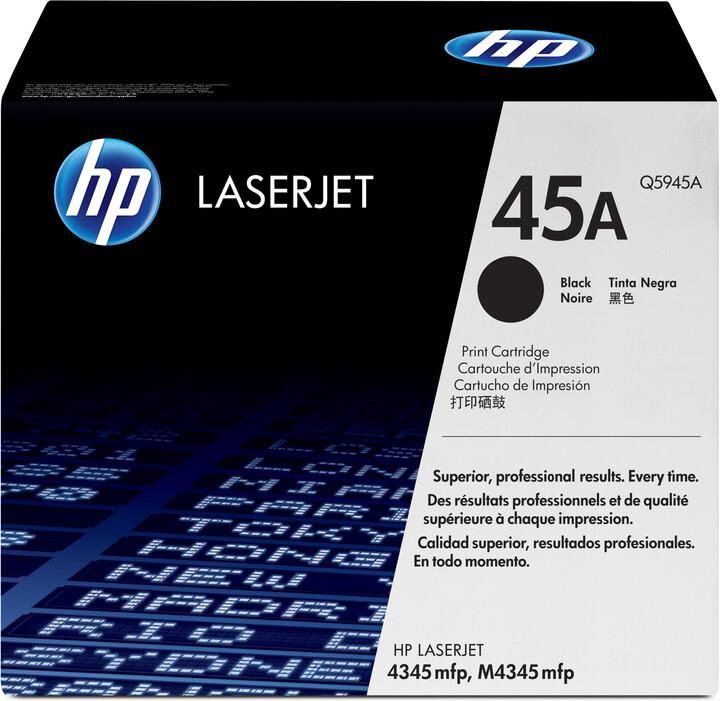 HP Q5945A, černá