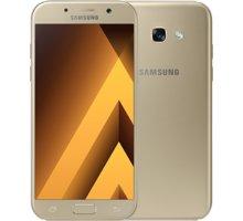 Samsung Galaxy A5 2017, zlatá - SM-A520FZDAETL + Zdarma inCharge USB-C, červený (v ceně 349,-)