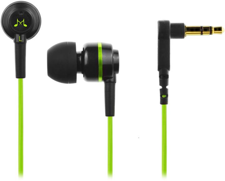 SoundMAGIC ES18, černo-zelená