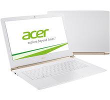Acer Aspire S13 (S5-371-75AM), bílá - NX.GCJEC.002 + Myš Microsoft Arc Touch Mouse, bluetooth, šedá pouze k NB Acer