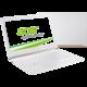 Acer Aspire S13 (S5-371-53TZ), bílá  + Myš Microsoft Arc Touch Mouse, bluetooth, šedá pouze k NB Acer