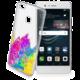 Cellularline STYLE průhledné gelové pouzdro pro Huawei P9 Lite, motiv ART