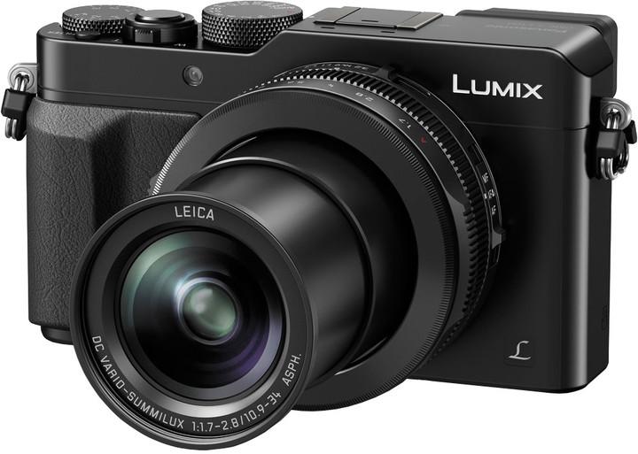 Panasonic Lumix DMC-LX100, černá
