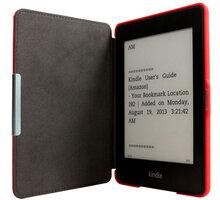 C-TECH PROTECT pouzdro pro Amazon Kindle PAPERWHITE, hardcover, AKC-05, červená - AKC-05R