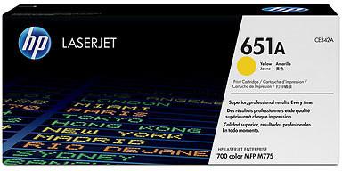 HP CE342A, žlutá