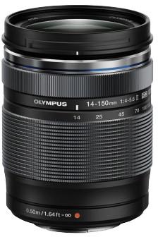 Olympus EZ-M1415 II 14 - 150mm, F4 - 5.6, černá