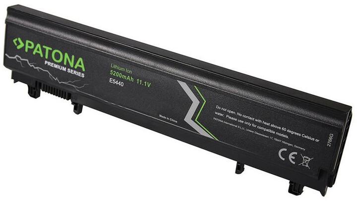 Patona baterie pro ntb DELL LATITUDE E5440 5200mAh Li-Ion 11,1V PREMIUM