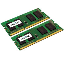 Crucial 8GB (2x4GB) DDR3L 1600 SO-DIMM CL 11 - CT2KIT51264BF160BJ