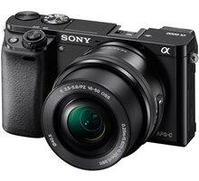 Sony Alpha 6000, 16–50mm, černá - ILCE6000LB.CEC