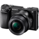 Sony Alpha 6000, 16–50mm, černá