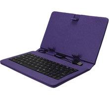 iGET 10.1'' pouzdro s klávesnicí F10V, fialová