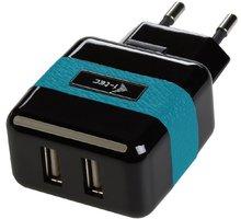i-Tec USB Power Charger 2 Port 2.1 A, síťová nabíječka pro USB zařízení, 2x USB 2.1 A - CHARGER2A1