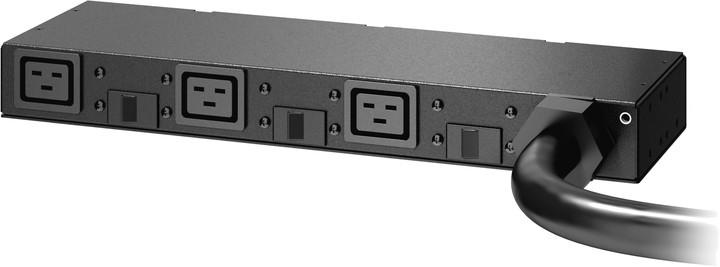 APC rack PDU, 0U/1U, 220-240V, 63A, (3) C19