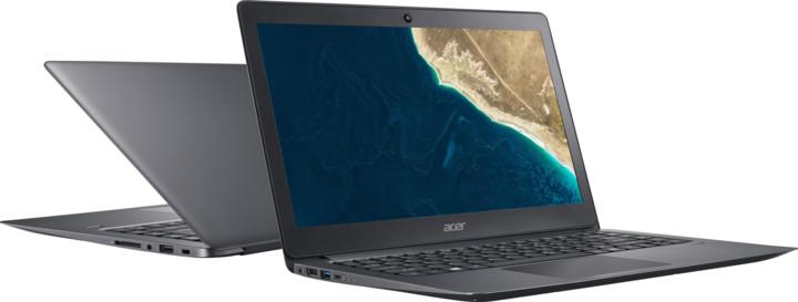 Acer TravelMate X3 (TMX349-G2-M-73JV), šedá