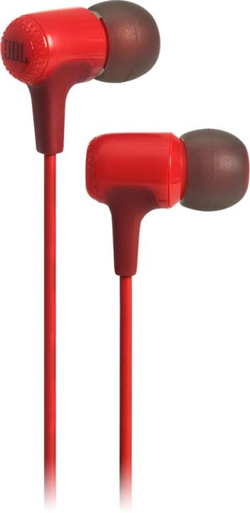 JBL E15, červená