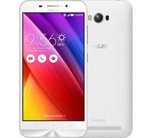 ASUS ZenFone Max ZC550KL, bílá - 90AX0106-M00980 + Zdarma SIM karta Relax Mobil s kreditem 250 Kč