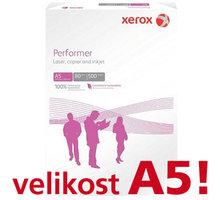 Xerox papír Performer, A5, 500 ks, 80g/m2 - 495L90645