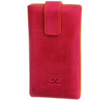 "DC 6XL (5"") Guard Protect Grezy, FUSHIA/ORANGE ŠITÍ (Sony Xperia Z, .. ) - LCSTOP41GUGRFU"