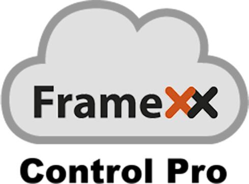 FrameXX CONTROL Pro (cloud, 1 zařízení) Softwarová licence