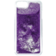 Guess Liquid Glitter Hard Triange Purple pouzdro pro iPhone 7 Plus