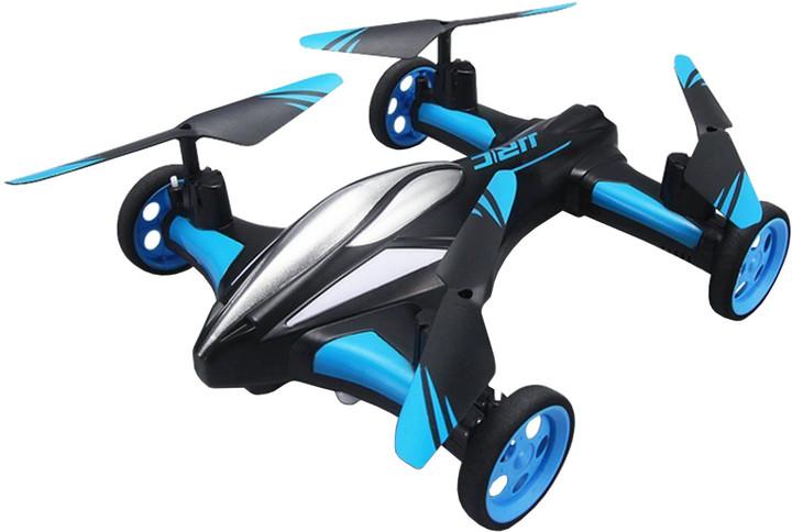 JJR/C H23 Mini Dron 2.4G 4 kanálový, 6osý gyroskop, modrá