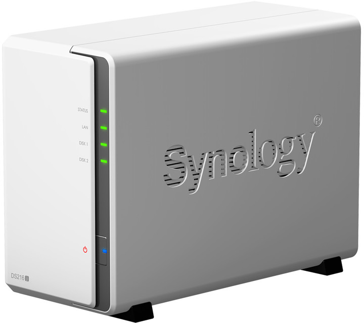 Synology DS216j DiskStation (2x 1TB)