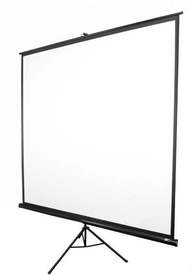 """Elite Screens plátno mobilní trojnožka 119"""" 213,4 x 213,4 cm"""