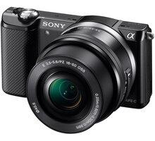 Sony Alpha 5000, černá + objektiv 16-50mm - ILCE5000LB.CEC