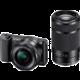 Sony Alpha 5100 + 16-50mm + 55-210mm, černá
