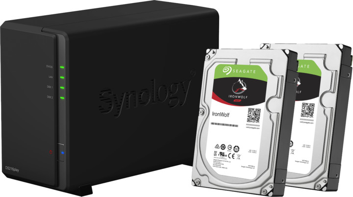 Synology DS216play DiskStation + 2x3TB