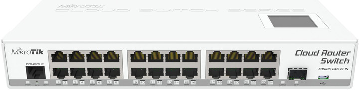 Mikrotik CloudRouterSwitch CRS125-24G-1S-IN