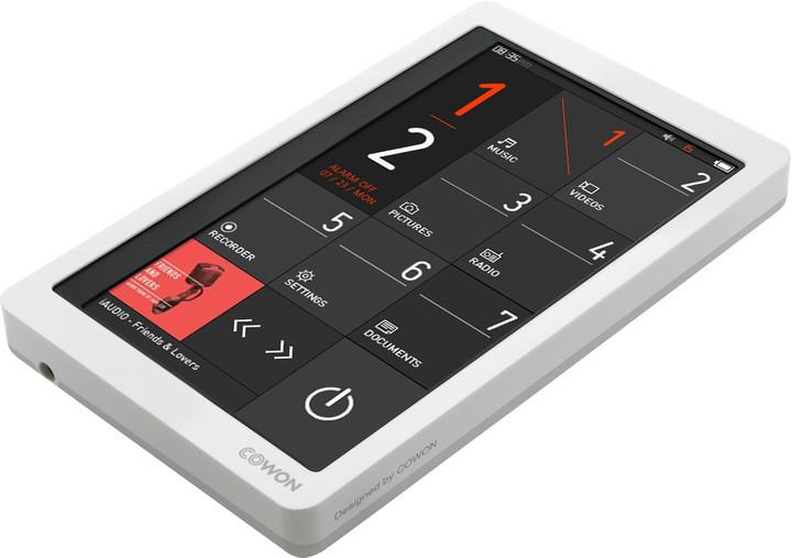 Cowon X9 - 16GB - bílá
