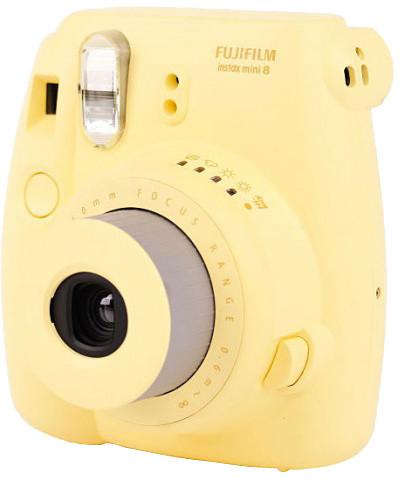 Fujifilm Instax MINI 8, žlutá