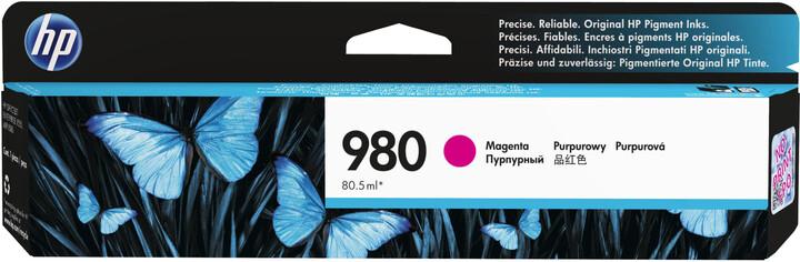 HP D8J08A náplň č.980, magenta