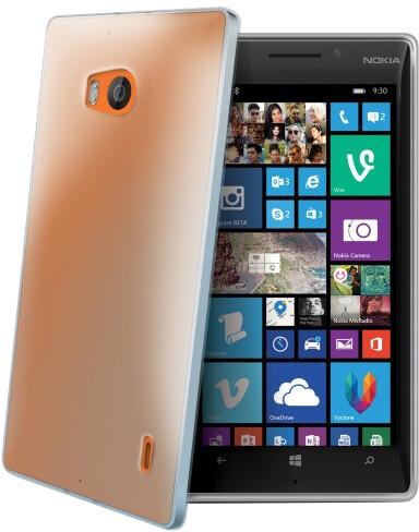 CELLY Gelskin pouzdro pro Nokia Lumia 930, bezbarvá