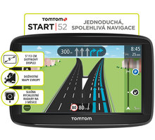TOMTOM START 52 Europe Lifetime mapy - 1AA5.002.01